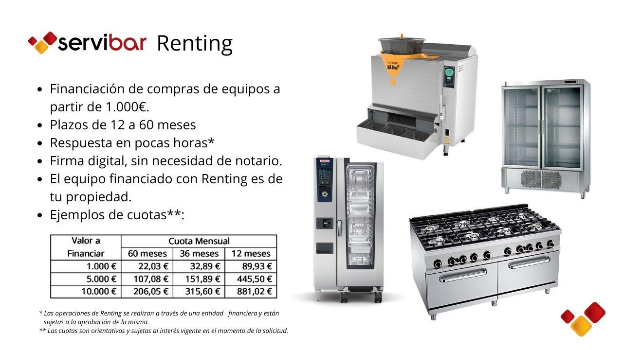 Servibar Renting