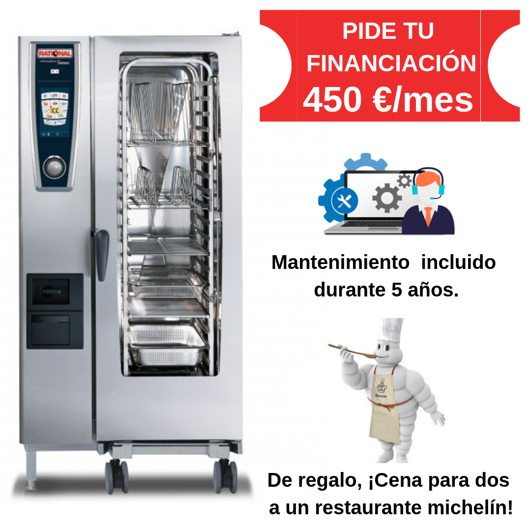 Self Cooking Center Modelo 201 Gas