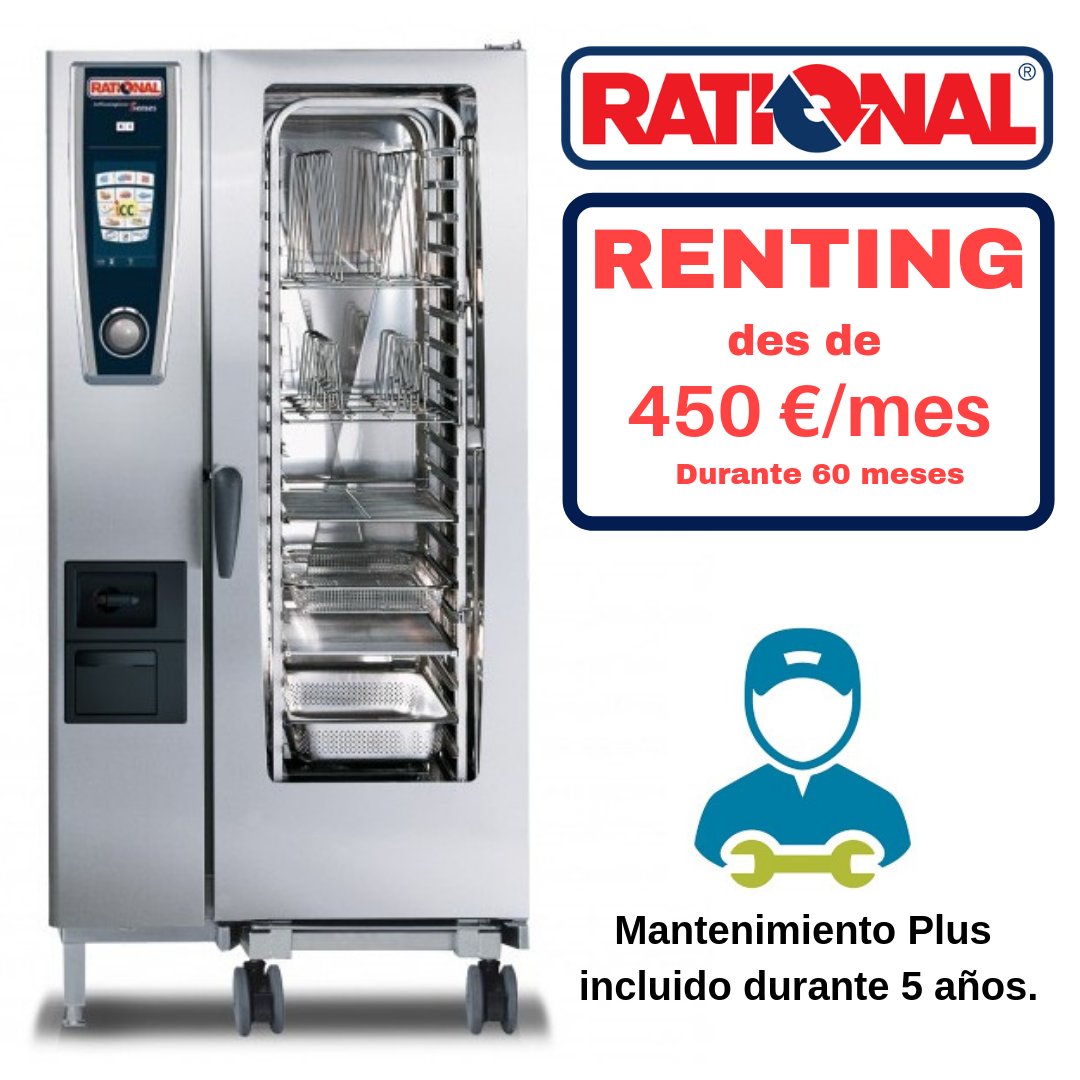 Horno Gas Rational Modelo 201 SelfCookingCenter Whitefficiency
