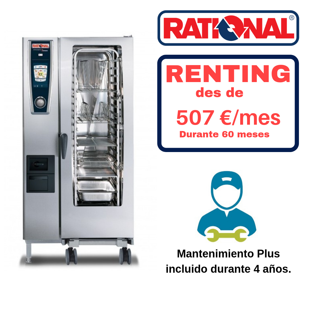 Horno Gas Rational Modelo 201 SelfCookingCenter