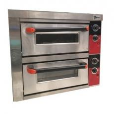 Horno de Pizza Doble 4+4 x 26 Electrico